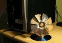 How to make Fan from CD DVD - End of Summer and heat [howpk.com]