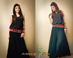 df977a03ed43 Latest Casual Dresses for Girls 2015 - Pakistani Casual Designs
