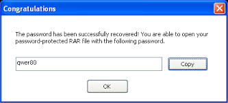 how to remove password on winrar