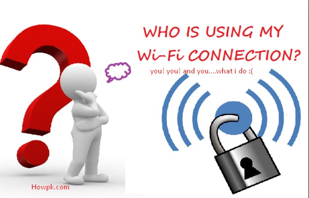 how to check who is using your wifi PTCL internet [howpk.com]