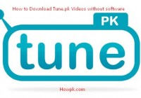 How to Download Tune.pk Videos without software [howpk.com]