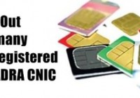 Check How Many Sim's are registered on your CNIC [howpk.com]