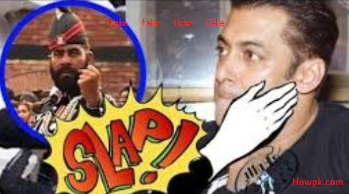 Sulman Khan Slapped By Pak Army is a Hoax and Fake [howpk.com]