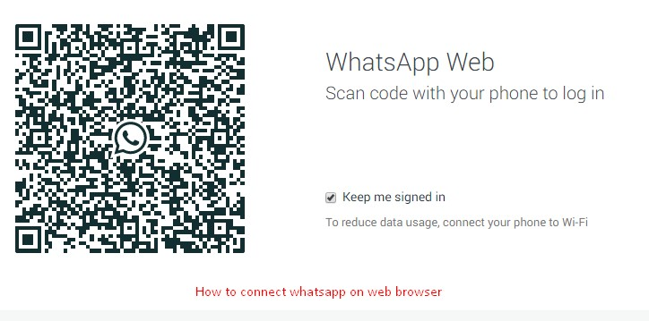 WhatsApp now available on WEB (Connect with browser) [howpk.com]