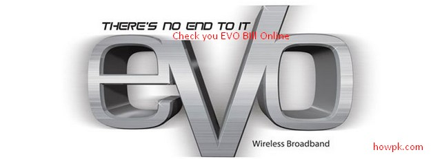 Check Your PTCL EVO Bill Online - Download EVO Bill Free [howpk.com]