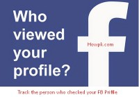 Check who visited my Facebook profile without any App [howpk.com]