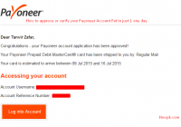 how to approve payoneer account fast in 1 day [howpk.com]