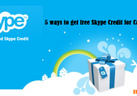 5 Ways to get Free Skype Credit for Phone Calls and SMS [howpk.com]