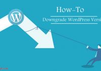 Downgrade WordPress version without losing content