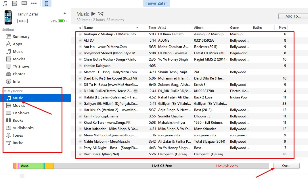 add music to iphone from computer how to add to iphone from computer with itunes howpk 18278